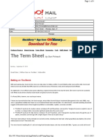 09-27-2010 Term Sheet - - Monday, Sept. 2721