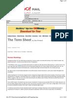 09-22-2010 the Term Sheet - - Wednesday, Sept. 2224