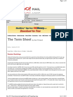 09-20-2010 the Term Sheet - - Monday, September 1926