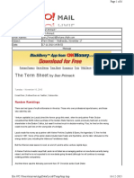 11-17-2010 Term Sheet -- Wednesday, November 1734