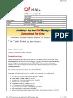 12-13-2010 Term Sheet -- Monday, December 1355