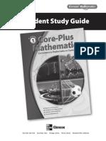 CorePlusMath Course1