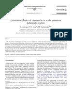 Dissolution Kinetics of Chalcopyrite Grupo 1