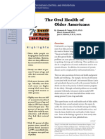 The Oral Health of Older Americans Cdc