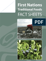 Traditional Food Fact Sheets