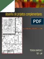 Desenhos complementares para projetos