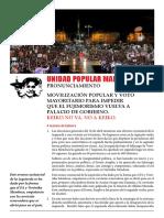 Pronunciamiento Upm Abril 2016