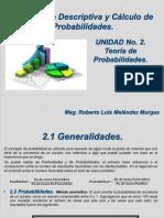 CLASE UNIDAD No. 2 TEORÍA DE PROBABILIDADES.pdf