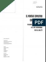 El montaje Expositivo como traducción. Isabel Tejeda Martín