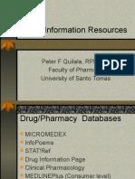 Drug Information Resources.ppsx