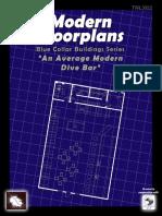 Modern Floorplans St Michaels Pub-An Average Modern Dive Bar