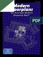 Modern Floorplans an Average Modern Shopping Mall