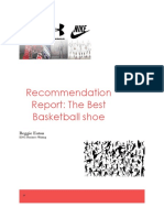 recommendation report