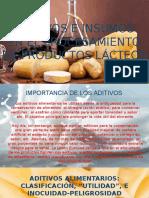 Aditivos en Laindustria Lactea