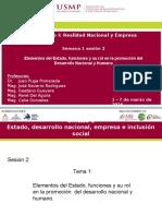SEMANA 1 Sesion 2 Funciones y Elementos Del Estado