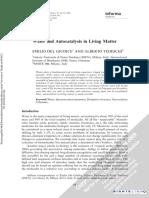 Electromagnetic Biology and Medicine Volume 28 issue 1 2009 [doi 10.1080%2F15368370802708728] Giudice, Emilio Del; Tedeschi, Alberto -- Water and Autocatalysis in Living Matter.pdf