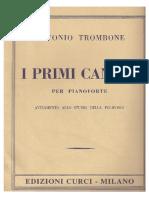 I Primi Canoni Pentagramma Corretto. Antonio Trombone