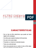 Filtros Chebyshev II