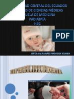 Hiperbilirrubinemianeonatal-InTERNA RESIDENTADO ECUADOR