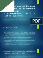Pereira (Relaciones Internacionales contemporáneas de américa latina) Hilton. cap 26 y Pérez. cap 7
