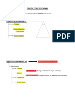 DIREITO CONSTITUCIONAL - Esquemas