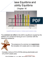 Chapter 16 Acid and Base Equi