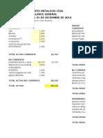 ejemplo fórmulas contables