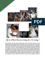 Life in Black America (in the 21st Century)