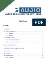 DMGAudio Limitless Manual