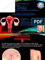 INFECCION PUERPERAL EXPOSICION