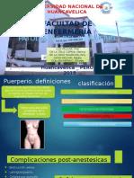 Patologias Del Puerperio-ok