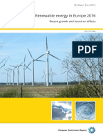 Renewable Energy in Europe 2016