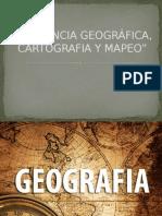 La Ciencia Geográfica, Cartografia y Mapeo