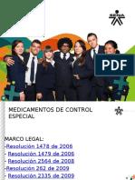 MEDICAMENTOS DE CONTROL ESPECIAL.pptx