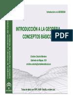 Conceptos en La Geodesia