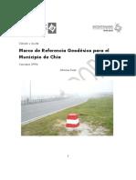Marco de Referencia Geodésico Para El Municipio de Chía_.Doc