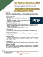 Defensa Civil informe