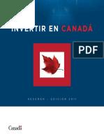 Invertir en Canada - Resumen Edicion 2011