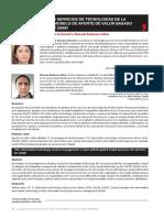 Gestión de los servicios de tecnologías de la información