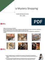Guía Para Mystery Shopping
