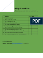 06-Sprint Planning Checklist