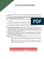Efectos de Las Obligaciones (Materia Prueba)(1)
