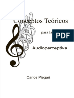 PIEGARI Conceptos Teoricos Para Audioperceptiva 1 Ar 17
