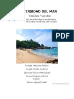 Plan de Marketing Puerto Escondido 1