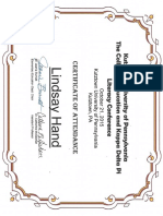 childrens literacy conference certificate