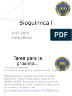 Bioquímica I - Clase 2 Sistemas Acuosos