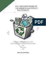 Guia Para El Adecuado Manejo de Residuos de Aparatos Electricos y Electronicos