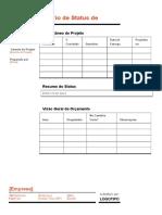 Relatório de Status de Projeto