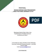 Proposal Penyediaan Sarana Dan Prasarana