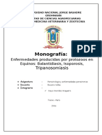 MONOCGRAFIA- PARASITOLOGIA